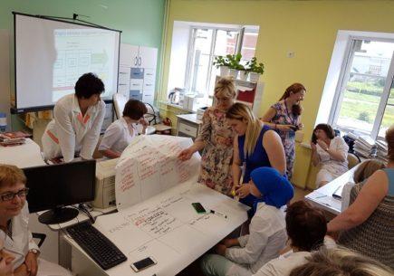 Развитие системы непрерывных улучшений в детской поликлинике