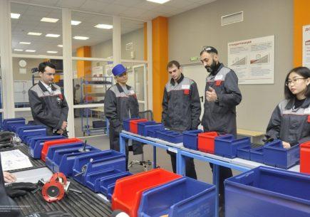 Открытие первой за Уралом вузовской Лин-лаборатории (Фабрики процессов) состоялось в опорном НГТУ