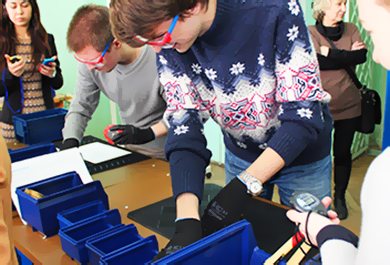 Первая Лин-лаборатория для студентов