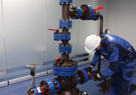Первая нефтяная Лин-лаборатория в ХМАО