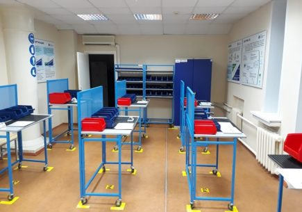 Состоялось открытие Лин-лаборатории (Фабрики процессов) в Вятском государственном университете