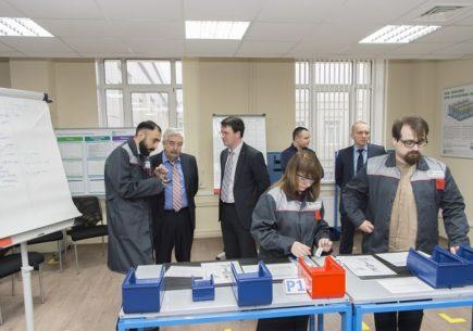 В Политехе Петра Великого открылся Центр компетенций в области Бережливого производства, Лин-лаборатория