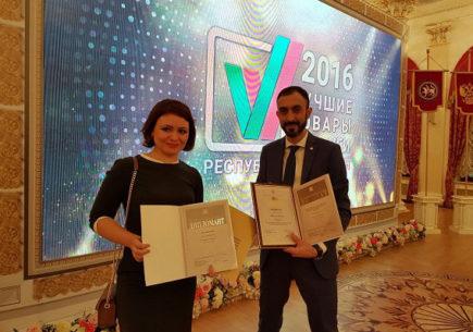 «Лин Вектор» — лауреат конкурса «100 лучших товаров России»
