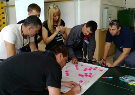 Практическое обучение сотрудников производственной компании «ЭСАБ»