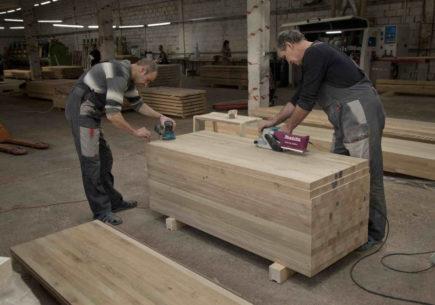 Повышение эффективности в цехе клееных изделий на предприятии по деревообработке