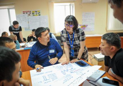Подготовка агентов изменений в Казахстане