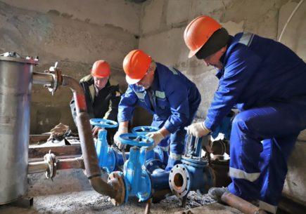 Диагностика в рамках национального проекта на предприятии по водоснабжению