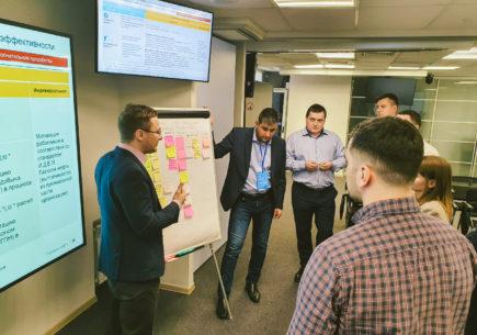 Межфункциональная сессия по внедрению системы «Каскад ключевых показателей эффективности»