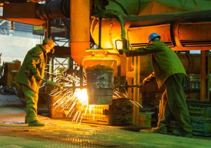 Повышение эффективности производства в потоке изготовления отливки Остов