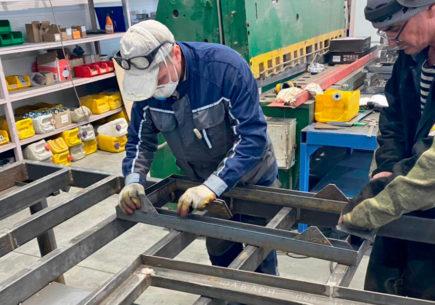 Повышение эффективности процесса производства комплектных трансформаторных подстанций киоскового типа (КТПК)